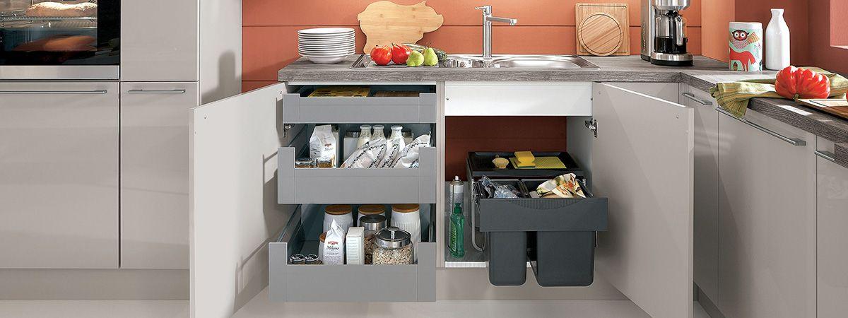 Abfalltrennung - Ihr Küchenfachhändler aus Bremen - die Küchenzeile